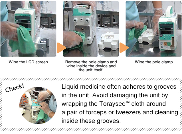 Toraysee™ for CE (Medical Equipment and Instruments